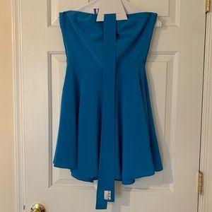 Amanda Uprichard Silk Tube Dress